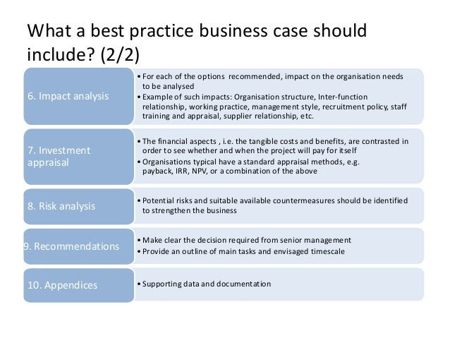 what is a business case document