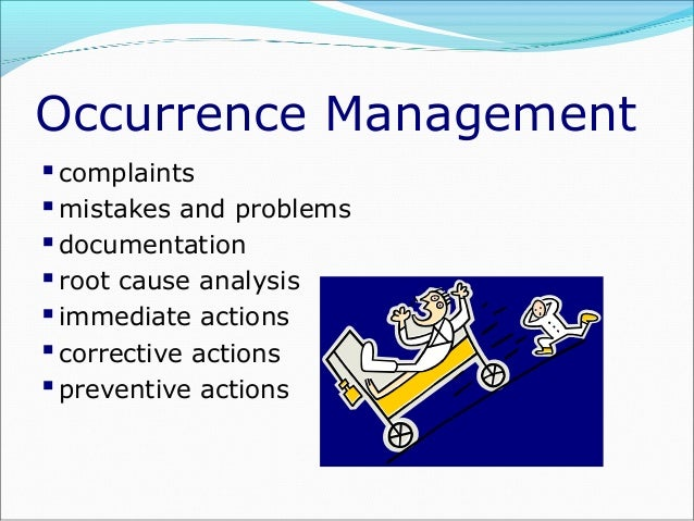 root cause for documentation errors