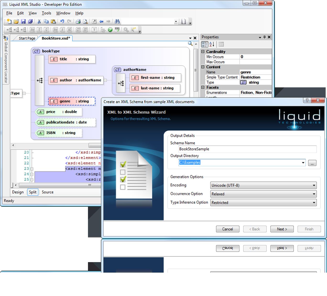 online xsd documentation generator