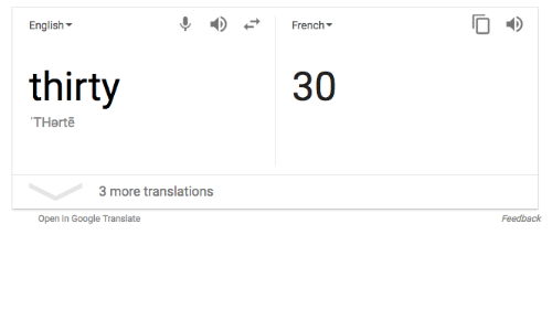 google translate french to english document
