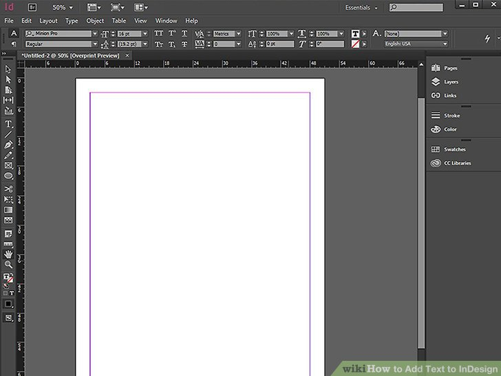 how to add bleed to a document in indesign