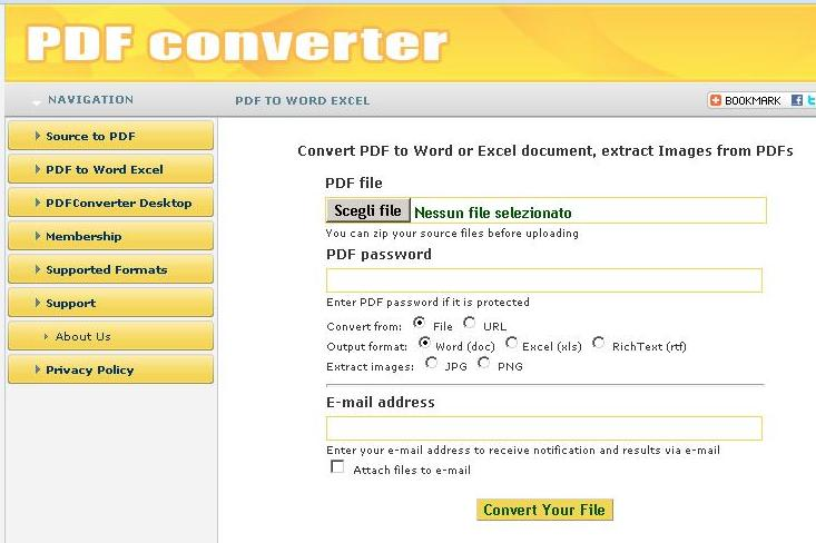 convert pdf to word 2010 document