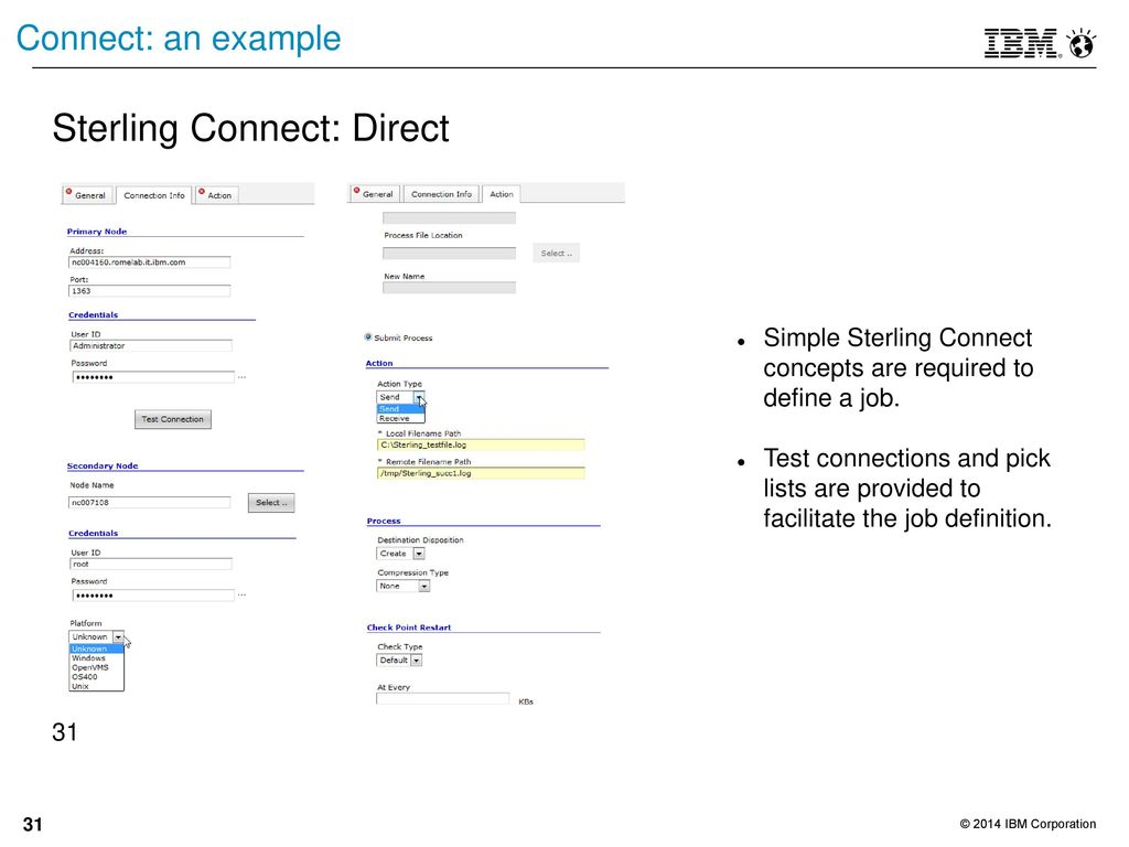 ibm connect direct documentation
