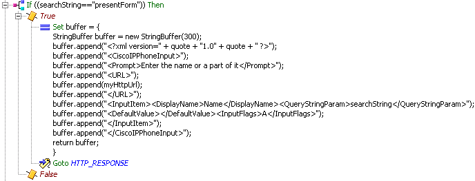 uccx create xml document l