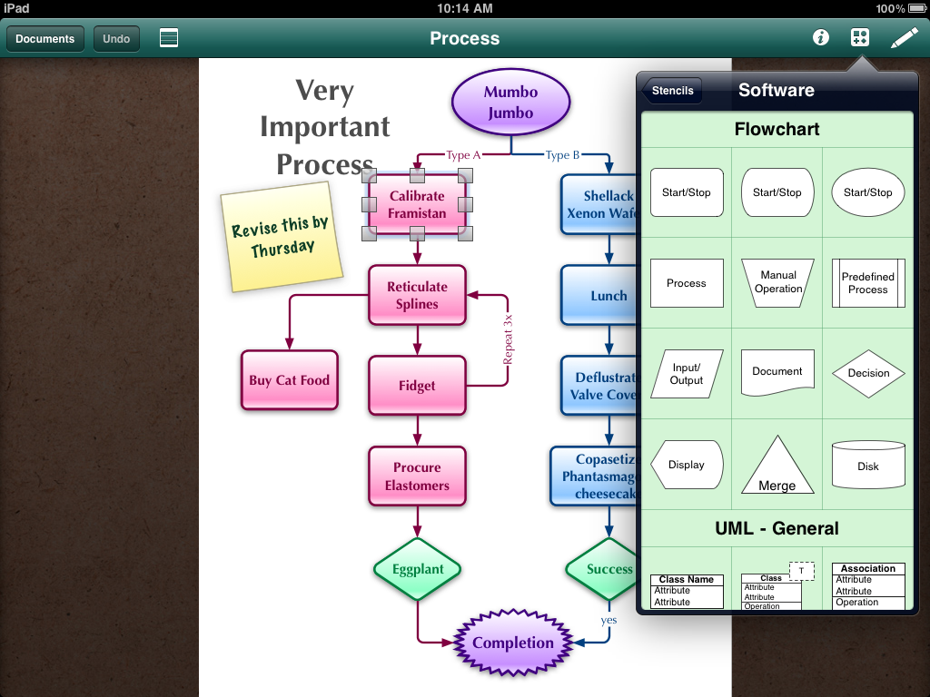 can i save a word document on my ipad