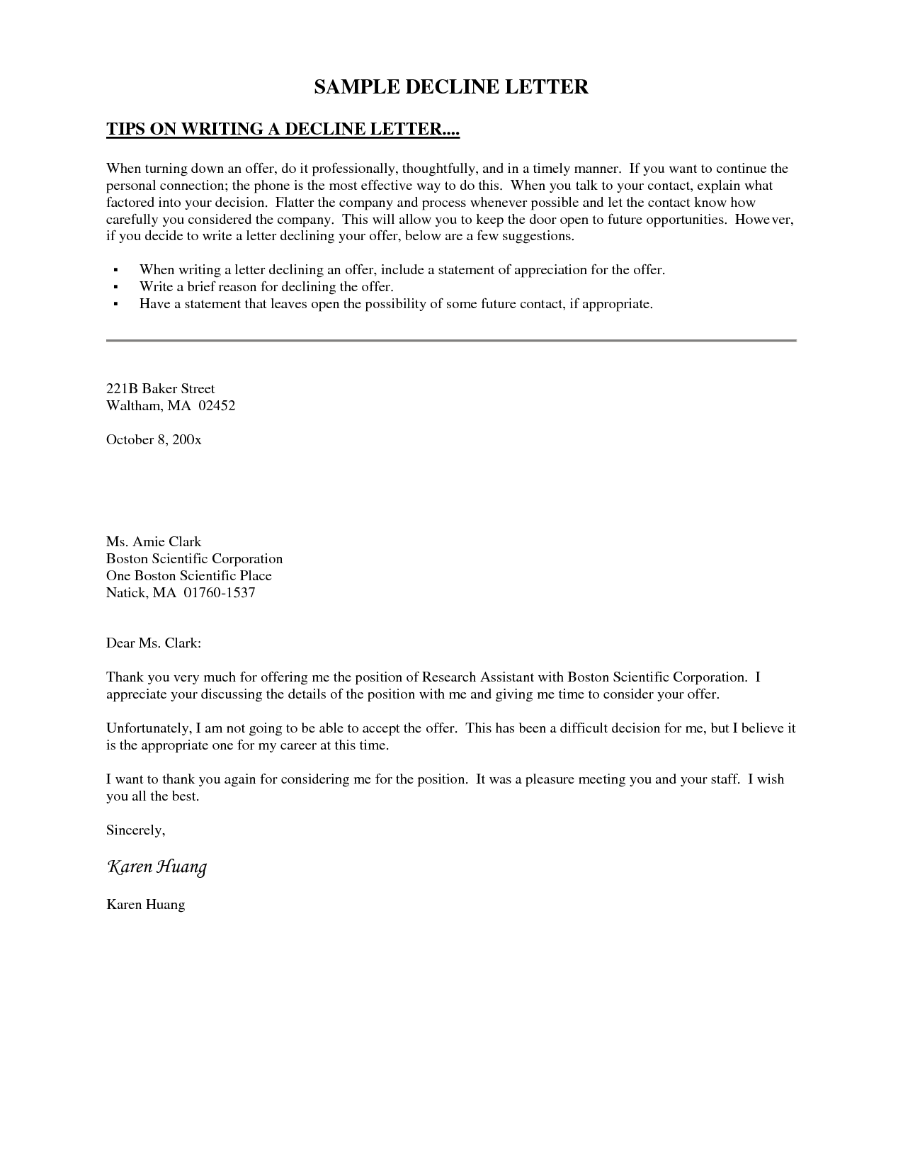 example invitation to tender document