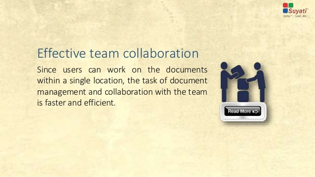 benefits of effective document management