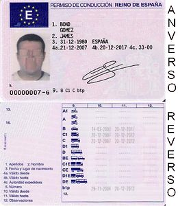 document reference number on nsw driving license