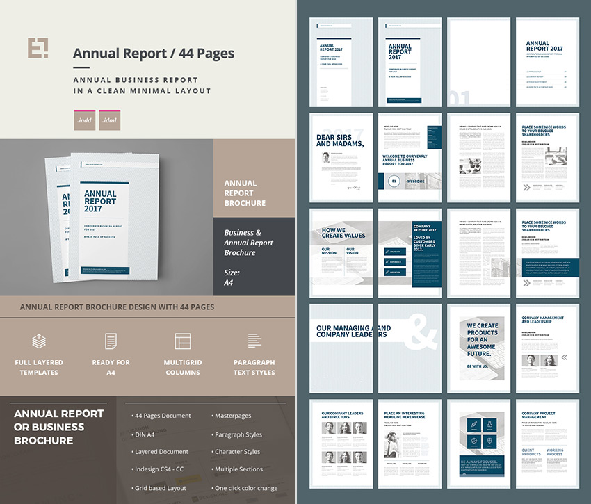 document layout of html page