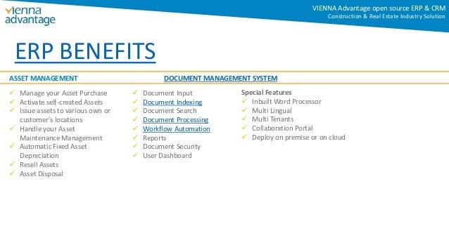 asset management system requirements document