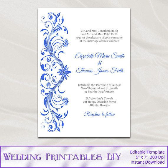 template word document blue stationary look