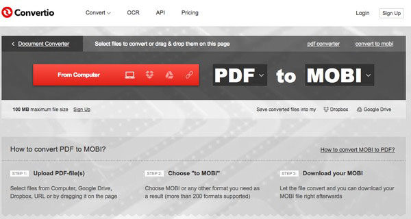 convert text document to pdf online