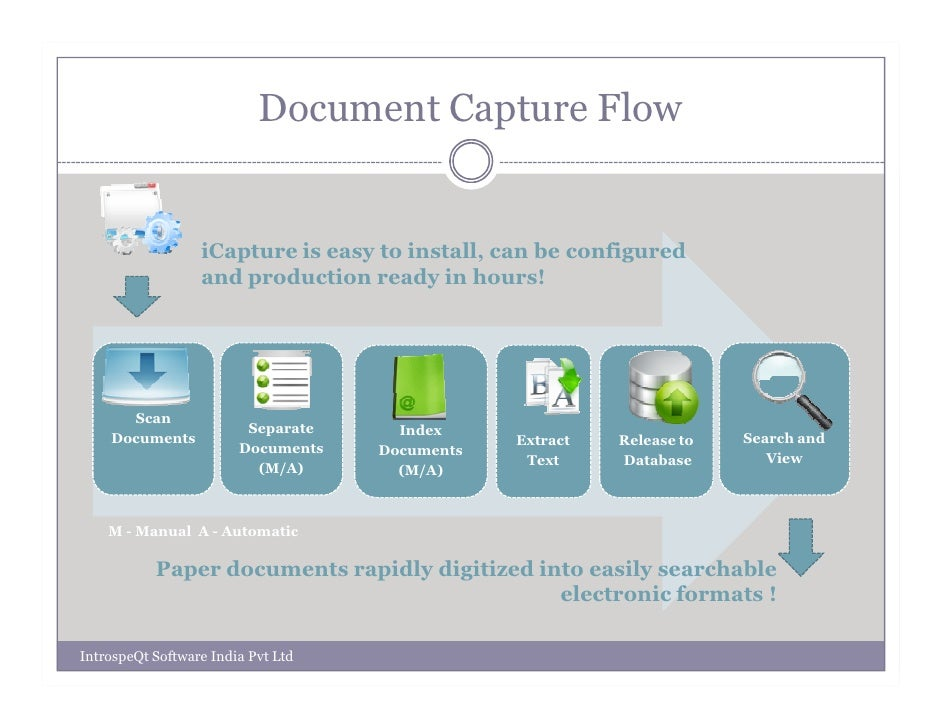 ocr demo scan document and automatically retrieves data into database