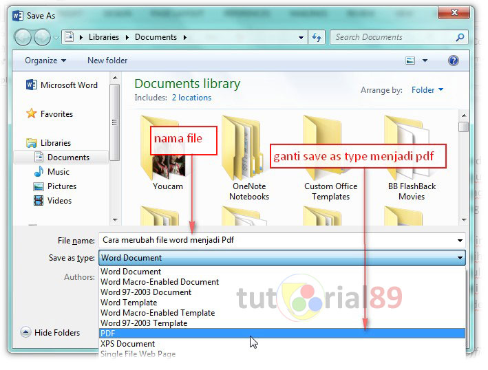 word mac bookmaerk within document
