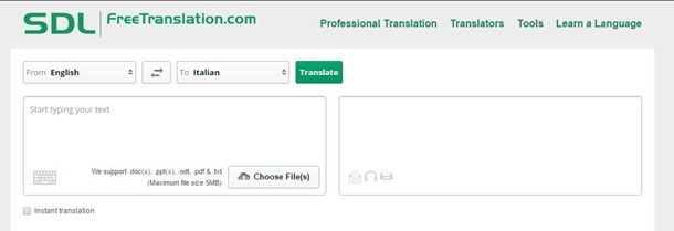 translate word document online free