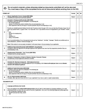 document checklist for 887 visa