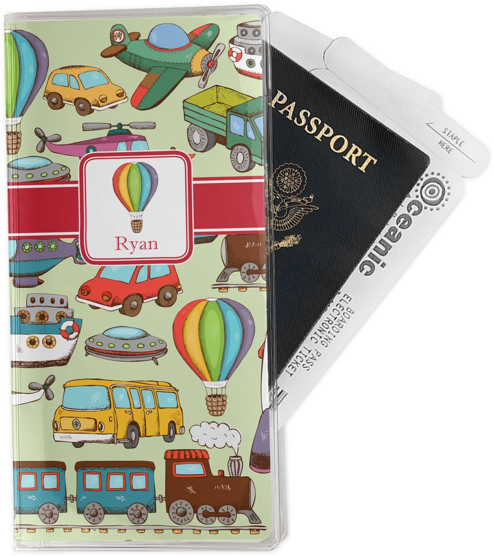 qantas retro travel document holder