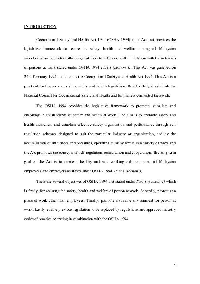 legislation about nursing documentation