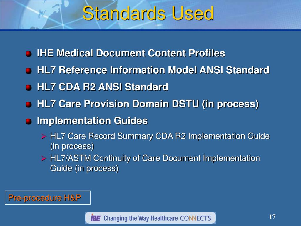 hl7 continuity of care document