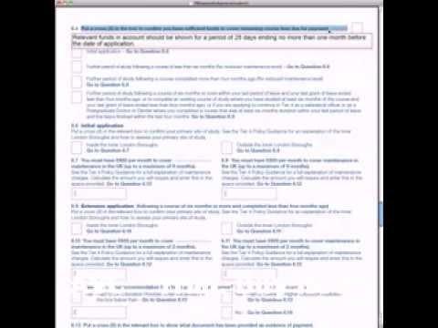 document needed for pr application in 457 visa