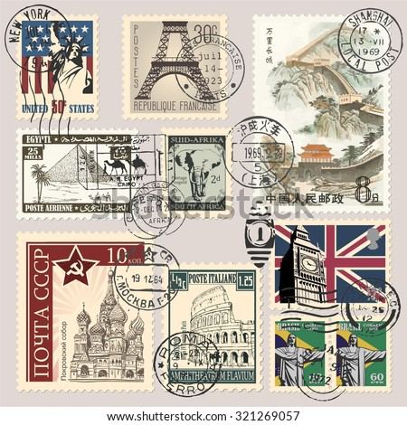 how to translate stamps on a document