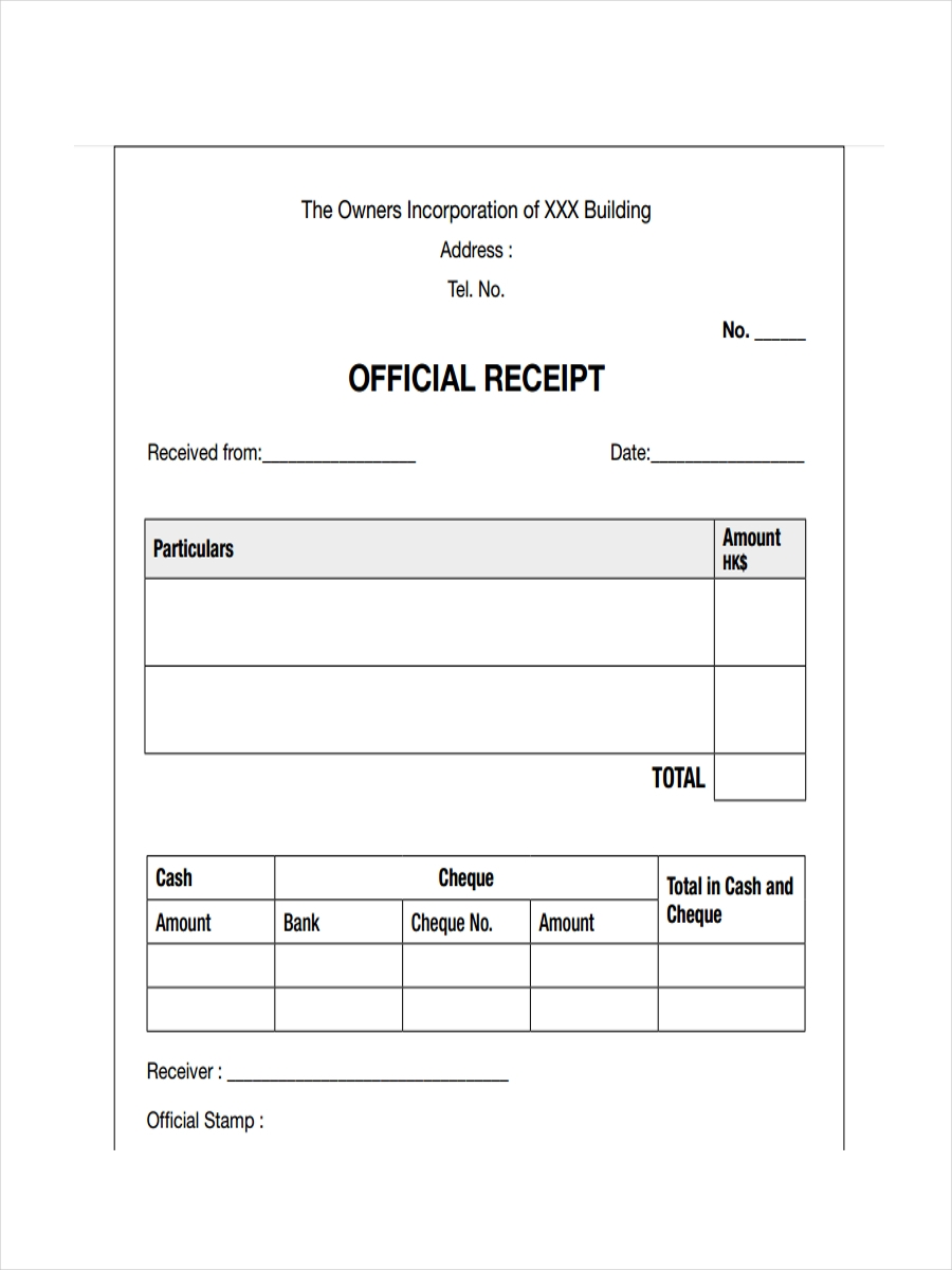 an official document that gives information about a particular subject
