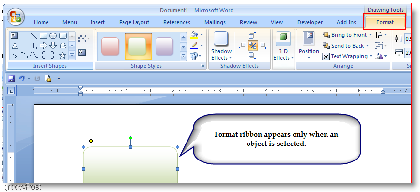 how to make a drawing on word document