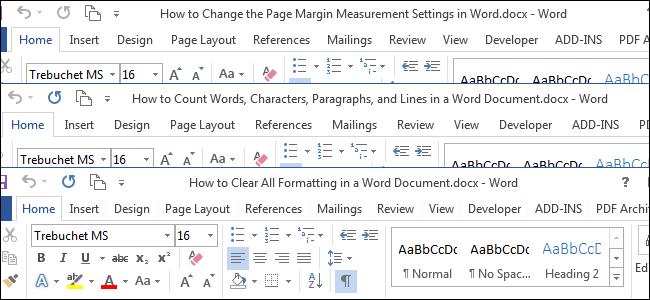 how to make excel look like a word document