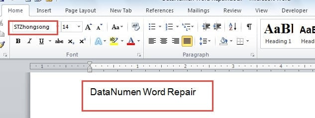 how to make a word document look old