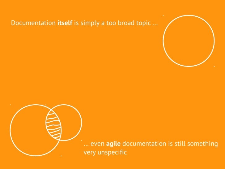 how to document an agile process