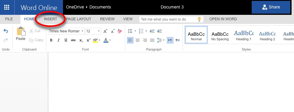 insert a document into a word document