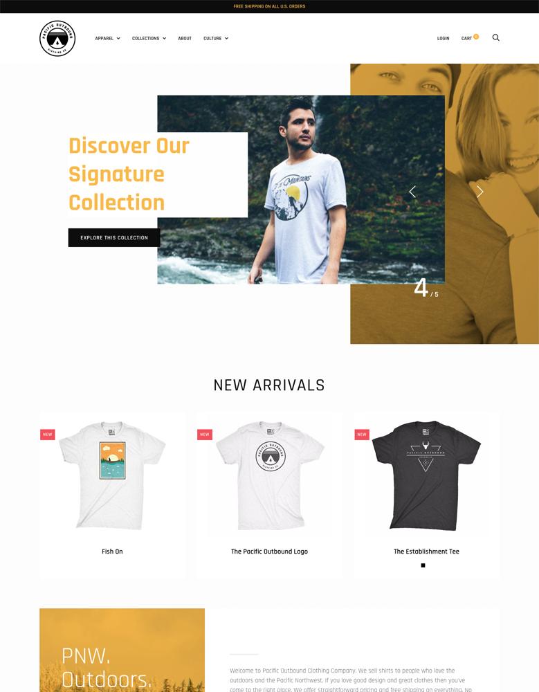 trademark gold shopify theme documentation