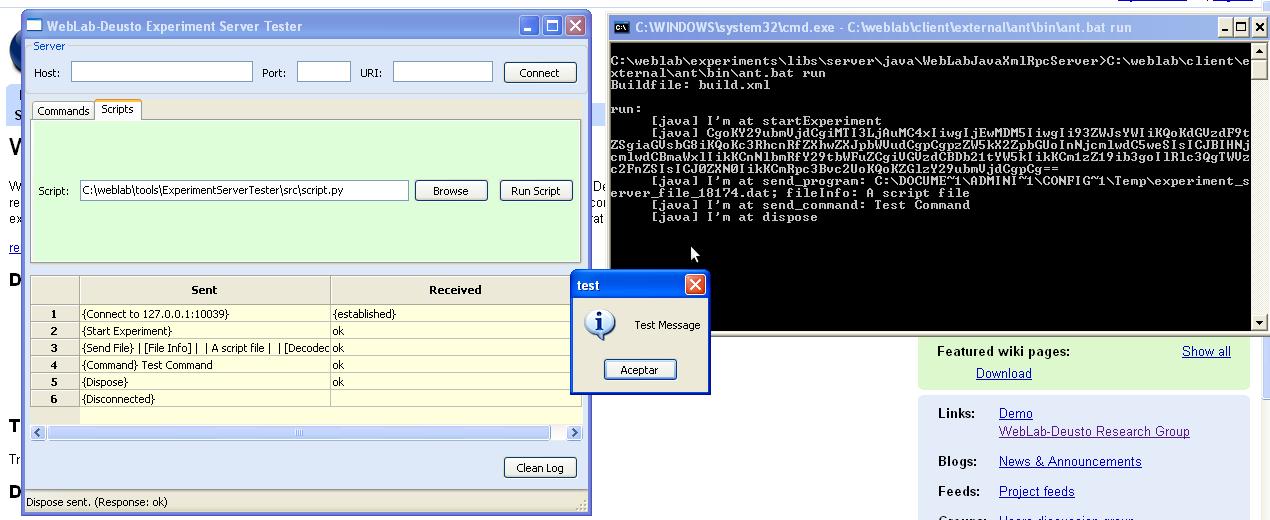 windows server documentation script