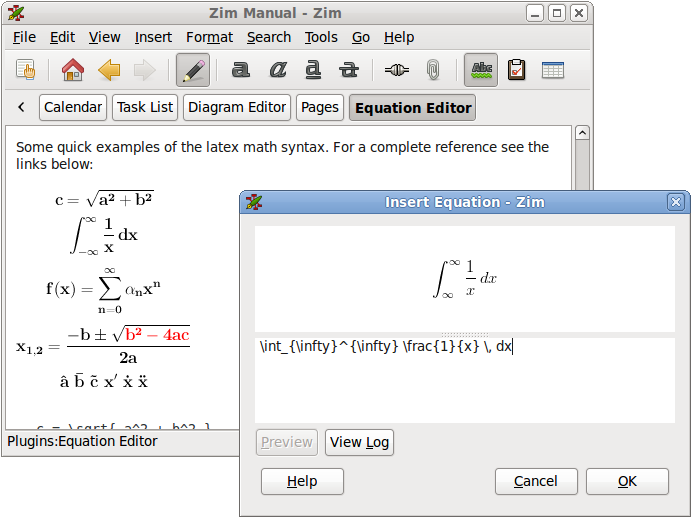 word document equation editor shortcut