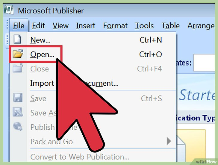 how to save a publisher document as a pdf