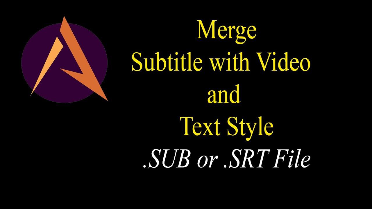 convert text document to srt file