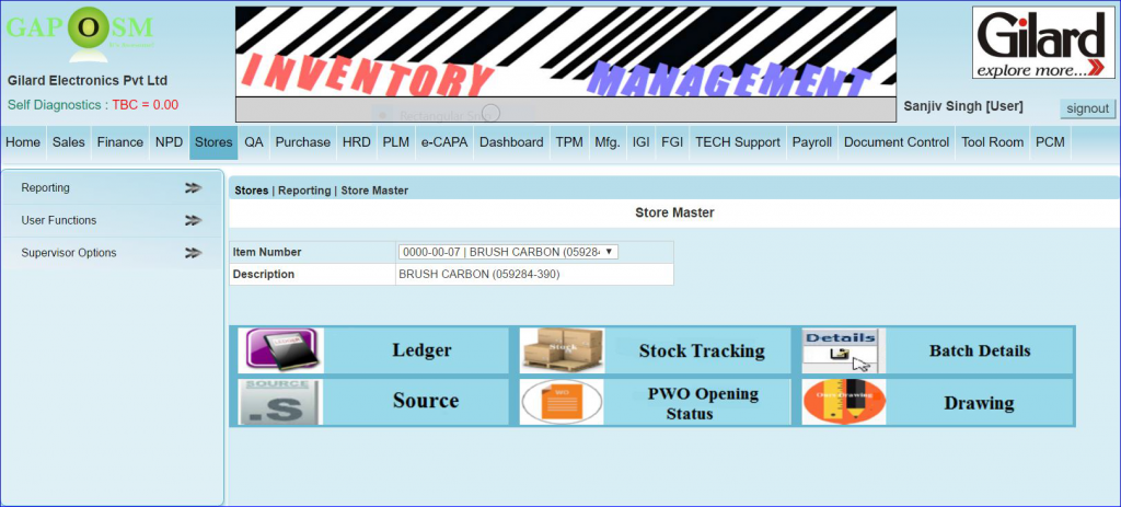 documentation that are used to record purchase inventory