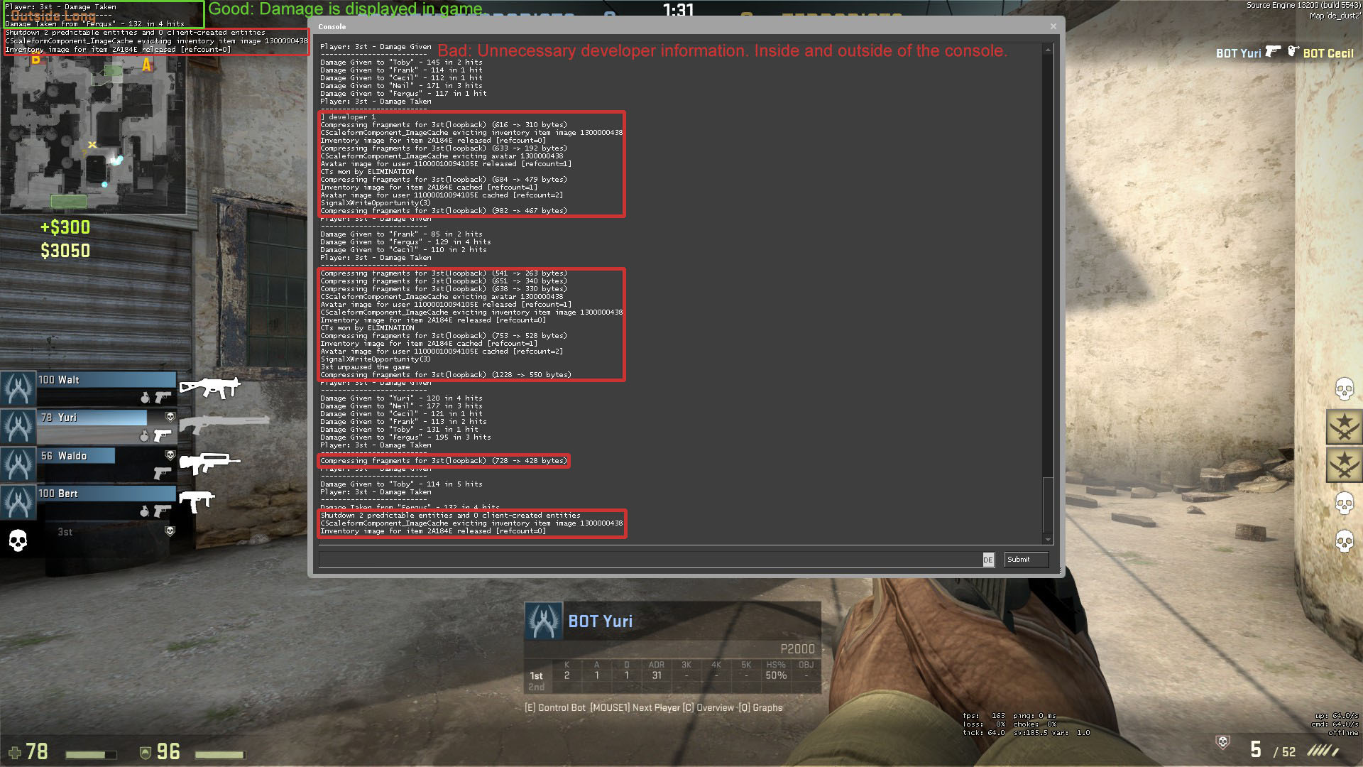 use a text document for lots of console commands skyrim