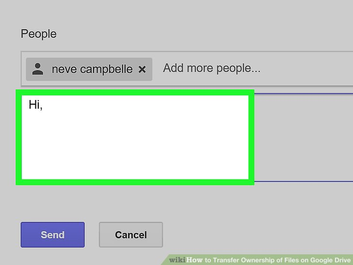 transfer google drive document ownership