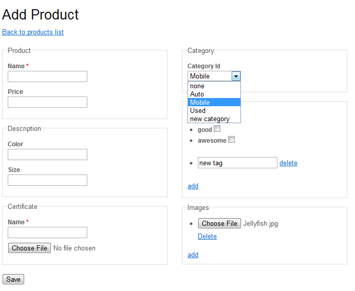c function documentation example