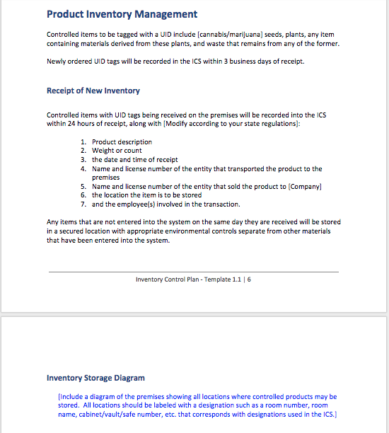 it governance policy document example