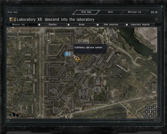 stalker cop x8 document locations