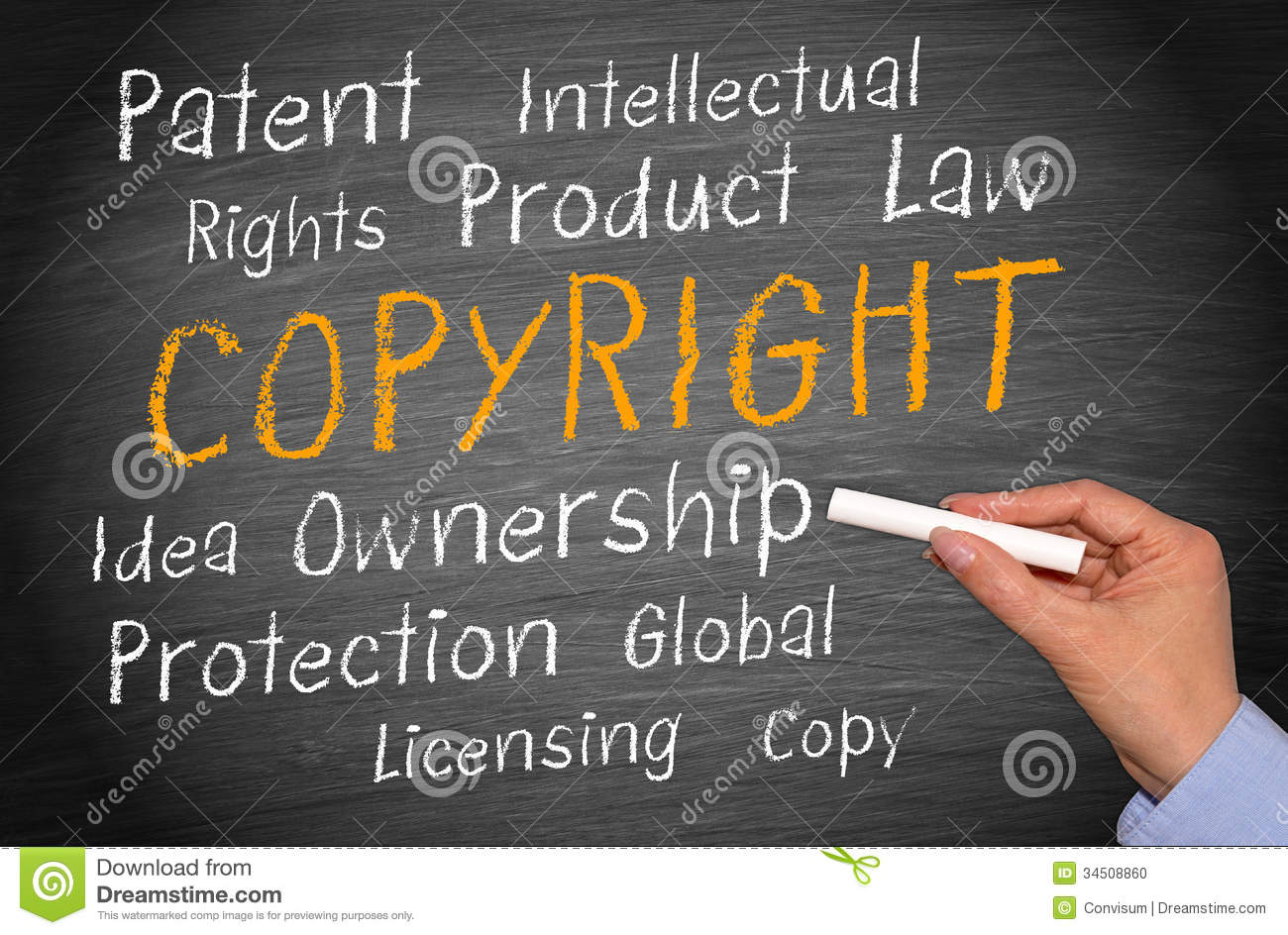 copyright and intellectual property legislation relating to document production