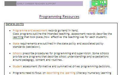 nsw literacy continuum word document