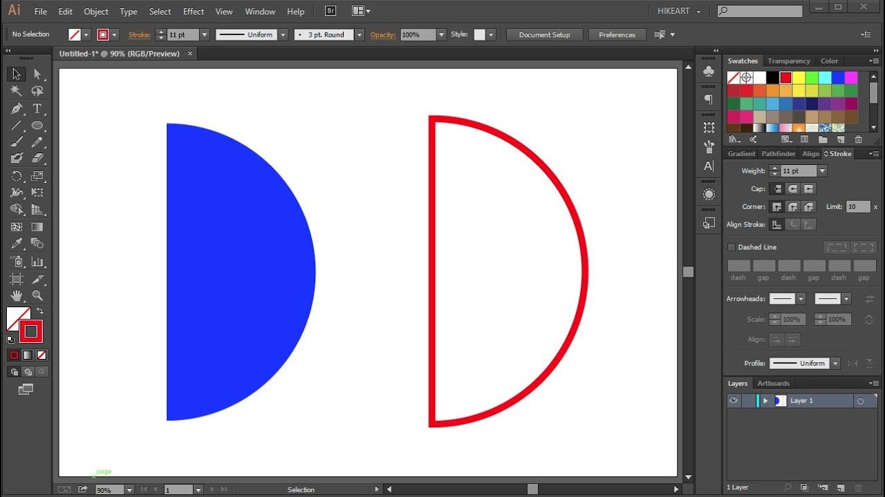 draw circle on word document