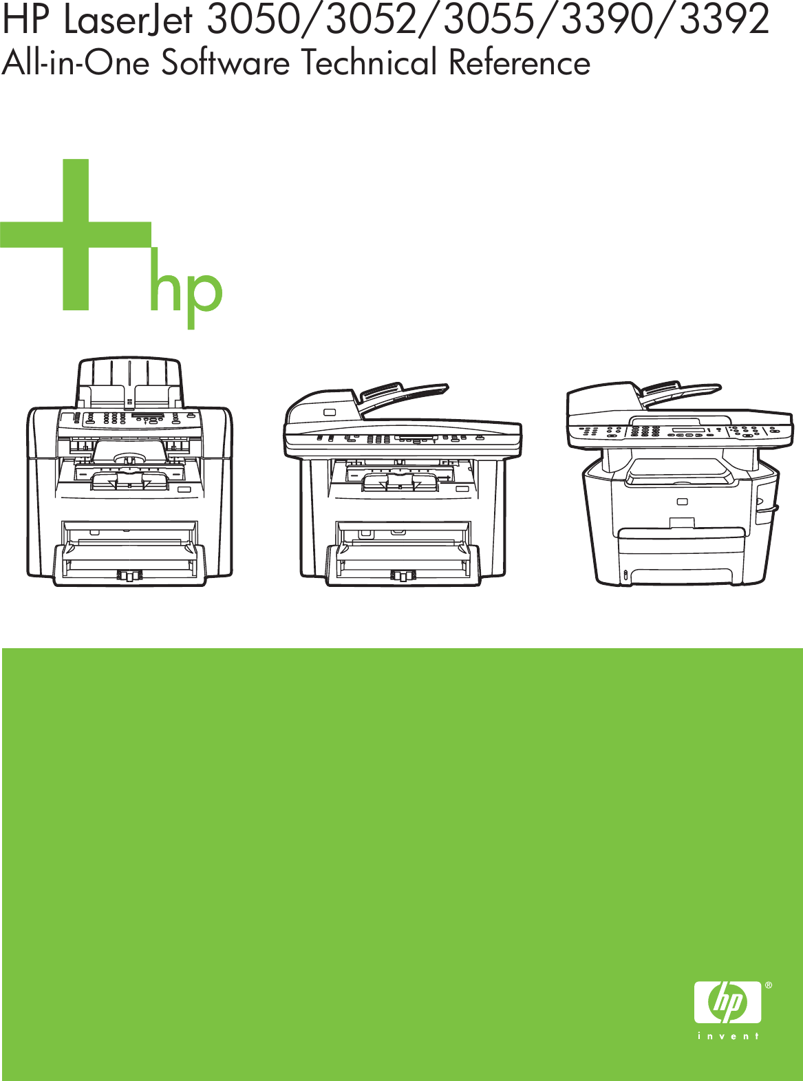 hp laserjet 3390 scanning mutiple pages into one document