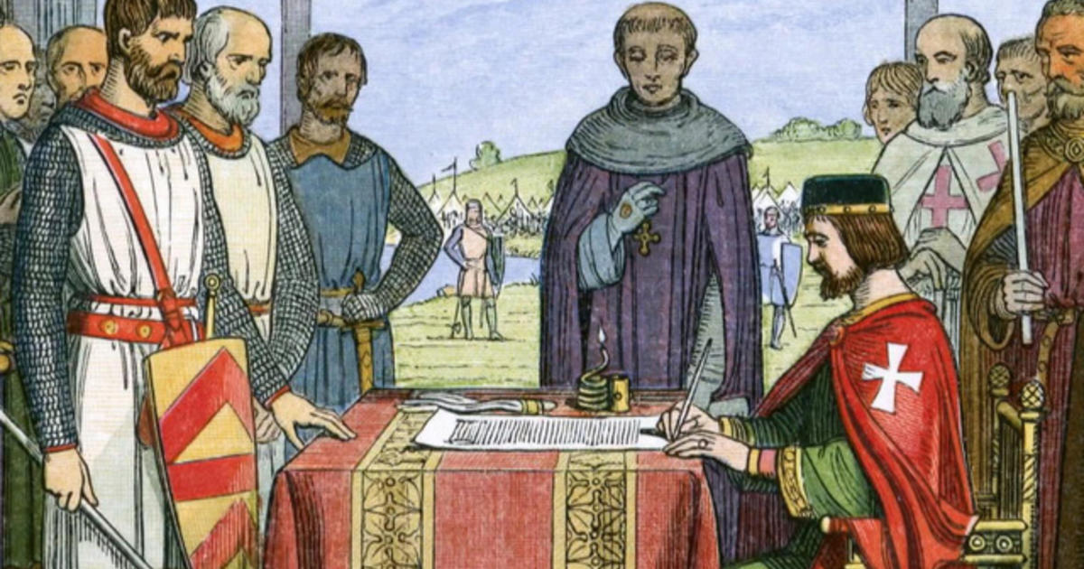 the magna carta is considered an important foundation document for