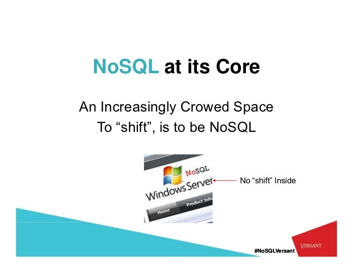 nosql key-value store document store