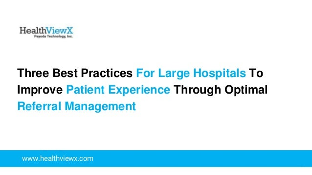 best practice one document all patients