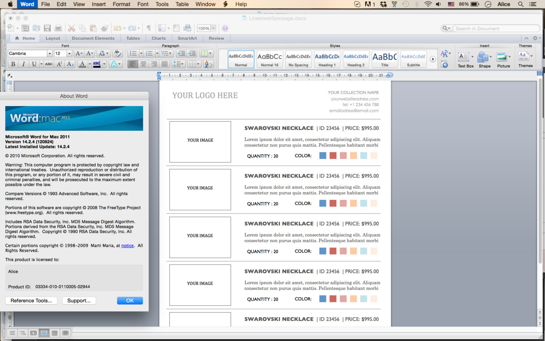 convert illustrator file into editable word document